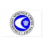 Colorado Springs Chess Night Postcards (Package of
