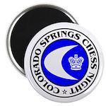 """Colorado Springs Chess Night 2.25"""" Magnet (100 pac"""