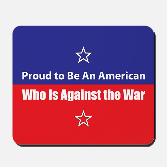 Against the War Mousepad