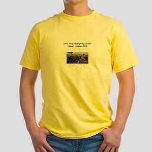 Bull Fighting School Yellow T-Shirt