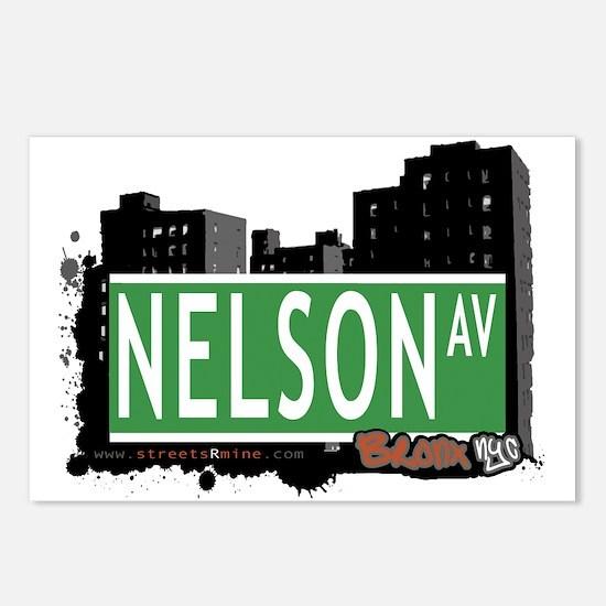 Nelson Av, Bronx, NYC Postcards (Package of 8)