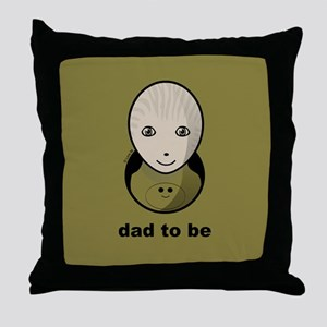Dad to be - Throw Pillow