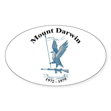 Mount Darwin, Rhodesia Sticker (Oval 10 pk)
