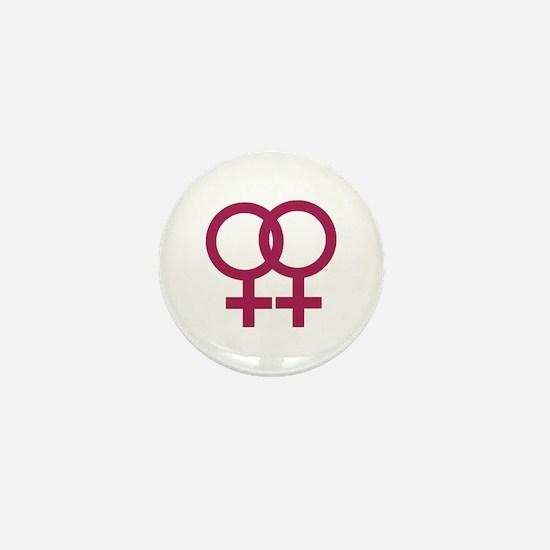 Lesbian Mini Button