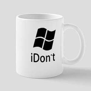 2-idont-shirt2 Mugs