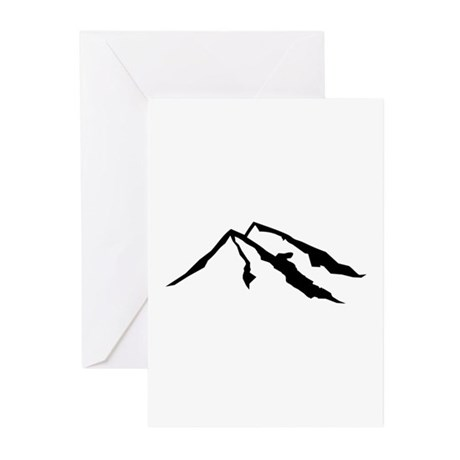 Mountains Greeting Cards (Pk of 10)