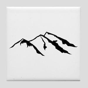 Mountains Tile Coaster