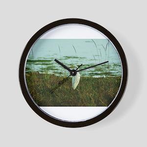 Egret Wall Clock