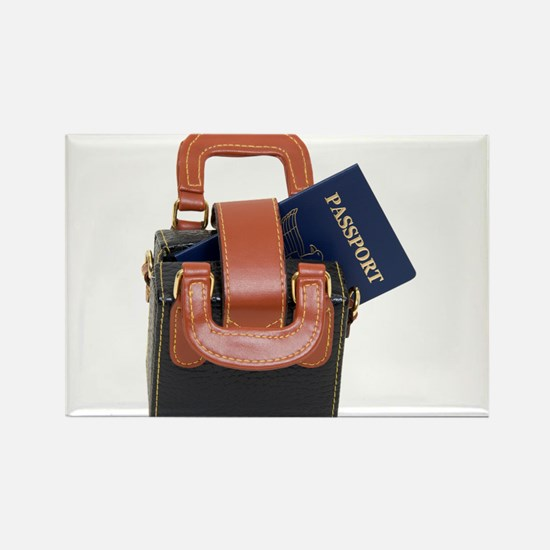 Ready to travel Rectangle Magnet