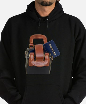Ready to travel Hoodie (dark)