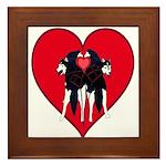 Valentine  Framed Tile