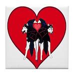 Valentine  Tile Coaster