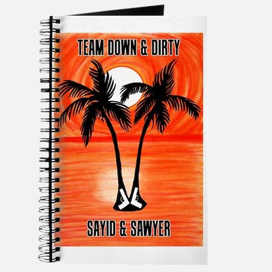 LOST Team Down & Dirty Sayid Sawyer Journal