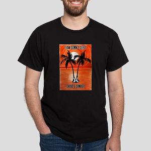 LOST Team Down & Dirty Sayid Sawyer Dark T-Shirt
