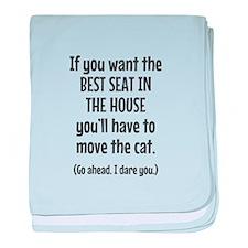 Funny Cat baby blanket