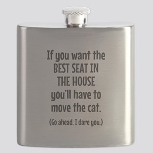 Funny Cat Flask