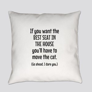 Funny Cat Everyday Pillow