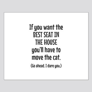 Funny Cat Small Poster