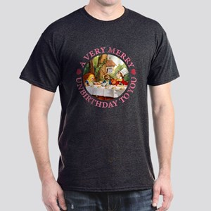 A VERY MERRY UNBIRTHDAY Dark T-Shirt