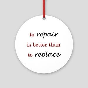 Repair Ornament (Round)