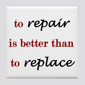 Repair Tile Coaster