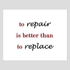 Repair Small Poster