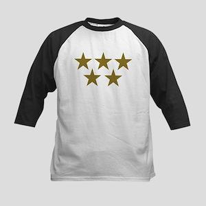 Golden Stars Kids Baseball Jersey
