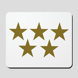 Golden Stars Mousepad