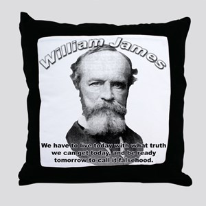 William James 01 Throw Pillow
