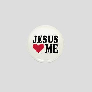 Jesus loves me Mini Button