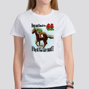 jockey cat Women's T-Shirt