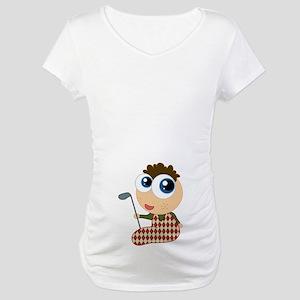 Cute Golf Baby Maternity T-Shirt