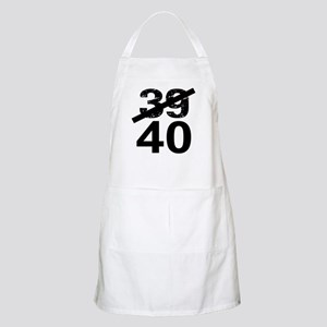 40th Birthday Apron