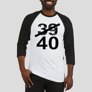 40th Birthday Baseball Jersey