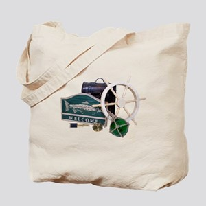 Welcome Nautical Tote Bag