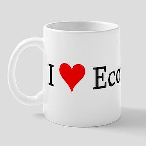 I Love Economists Mug
