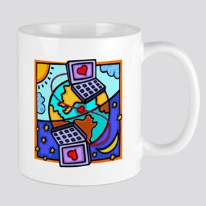 Love By Email Mug