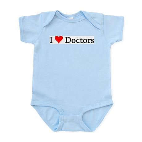I Love Doctors Infant Creeper