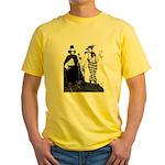 Mountain Views Yellow T-Shirt