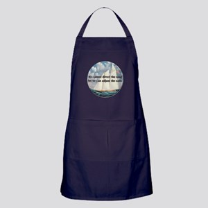 We Cannot Adjust the Wind Apron (dark)