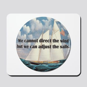 We Cannot Adjust the Wind Mousepad