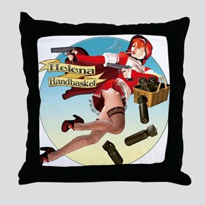 Helena Handbasket Throw Pillow