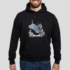 Cesky Agility Terrier Hoodie (dark)