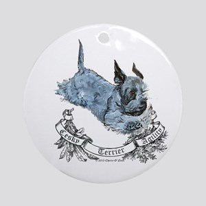 Cesky Agility Terrier Ornament (Round)