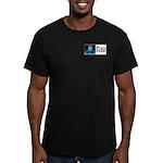 Field Negro Men's Fitted T-Shirt (dark)