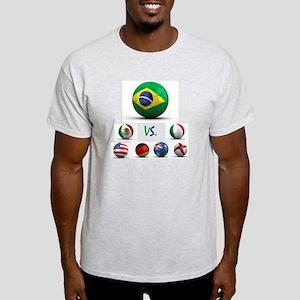 Brazil vs World Light T-Shirt
