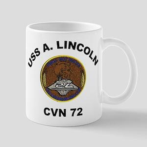 USS Abraham Lincoln CVN 72 Mug