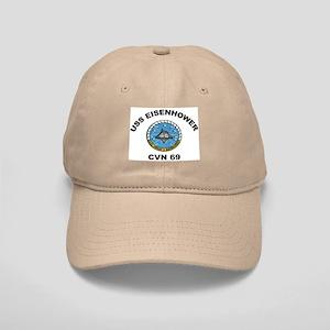 USS Eisenhower CVN 69 Cap