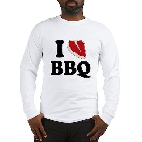 I Love BBQ Long Sleeve T-Shirt