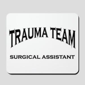 Trauma Team SA - black Mousepad